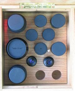 Eyepiece Tray with Eyepieces