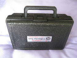Tool Set Carrying Case - closed & upright